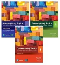 پک سه جلدی کتاب کانتمپروری تاپیک Contemporary Topics (4th) 1+2+3+cd