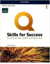 کتاب Q Skills for Success 1 Listening and Speaking third Edition+DVD