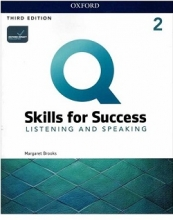 کتاب Q Skills for Success 2 Listening and Speaking third Edition+DVD