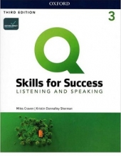 کتاب Q Skills for Success 3 Listening and Speaking third Edition+DVD