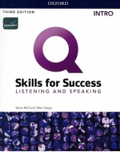 کتاب Q Skills Intro Listening Speaking third edition+DVD