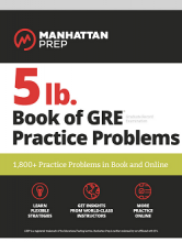 کتاب 5lb. Book of GRE Practice Problems: GRE Manhattan