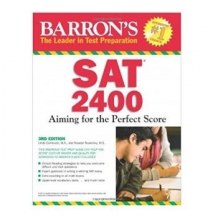 کتاب Barron's SAT 2400: Aiming for the Perfect Score