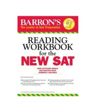 کتاب آزمون اس ای تی Barrons Reading Workbook for the NEW SAT
