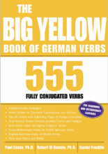 کتاب The Big Yellow Book of German Verbs 555