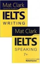 مجموعه دو جلدی کتاب Mat Clark IELTS Writing + Speaking + CD