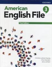 کتاب امریکن انگلیش فایل 3 ويرايش سوم : American English File 3rd Edition