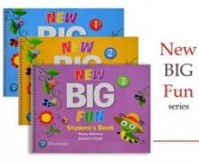 پک سه جلدی کتاب بیگ فان New Big Fun + CD
