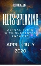 کتاب IELTS Speaking Recent Actual Tests (April – July 2020) & Suggested Answers