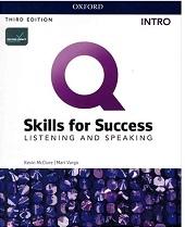 کتاب Q Skills for Success 3rd Intro Listening and Speaking +DVD
