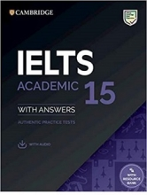 کتاب IELTS Cambridge 15 Academic + CD 2020
