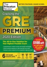 کتاب Cracking the GRE Premium Edition with 6 Practice Tests, 2020