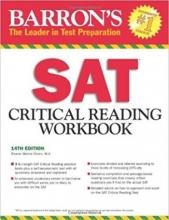 کتاب Barron's SAT Critical Reading Workbook 14th Edition