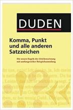 کتاب Duden - Komma, Punkt und alle anderen Satzzeichen