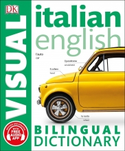 کتاب دیکشنری تصویری ایتالیایی انگلیسی Italian English Bilingual Visual Dictionary