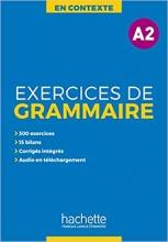 کتاب زبان En Contexte - Exercices de grammaire A2 + CD + corrigés