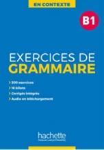 کتاب زبان En Contexte : Exercices de grammaire B1 + CD + corrigés