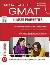 کتاب زبان GMAT Number Properties Manhattan Prep