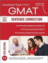 کتاب زبان  GMAT Sentence CorrectionManhattan Prep