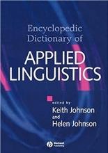 کتاب زبان The Encyclopedic Dictionary of Applied Linguistics