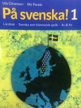 كتاب سوئدی پسونکا Pa svenska! 1 Lärobok Svenska som främmande språk A1 &A2