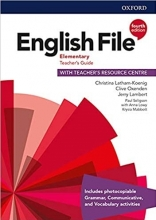 کتاب معلم English File Elementary Teachers Guide 4th Edition