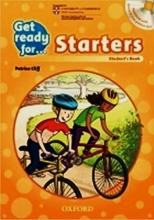 كتاب زبان گت ردی فور استارترز (Get Ready for: Starters (SB+CD