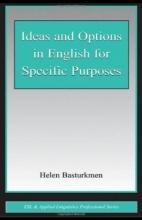 کتاب Ideas and Options in English for Specific Purposes