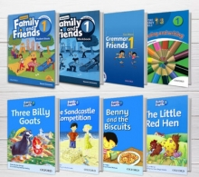 پکیج (رحلی) دوره کامل American Family and Friends 1 2nd edition