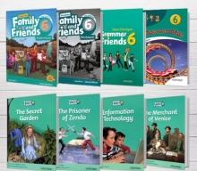 پکیج (رحلی) دوره کامل American Family and Friends 6 2nd edition