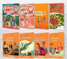 پکیج (رحلی) دوره کامل American Family and Friends 4 2nd edition