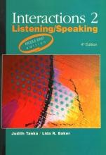 کتاب Interactions 2 Listening / Speaking 4th Edition Middle East Edition