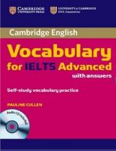 کتاب کمبریج وکبیولری فور آیلتس ادونسد  Cambridge Vocabulary for IELTS Advanced + CD نسخه صادراتی
