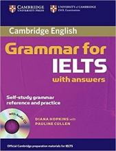 کتاب کمبریج گرامر فور آیلتس Cambridge Grammar for IELTS+CD نسخه صادراتی