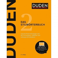 کتاب DUDEN Das Stilwörterbuch 2