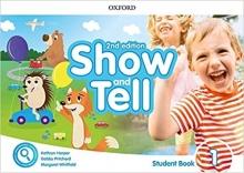 کتاب Oxford Show and Tell 1 (2nd) ST+Activity Book+DVD