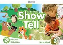 کتاب Oxford Show and Tell 2 (2nd) ST+Activity Book+DVD