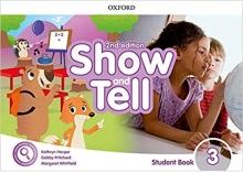 کتاب Oxford Show and Tell 3 (2nd) ST+Activity Book+DVD
