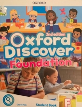 کتاب آکسفورد دیسکاور فاندیشن ویرایش دوم Oxford Discover foundation 2nd - SB+WB+DVD