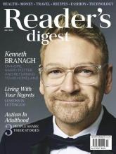 مجله ریدر دایجست Readers Digest Living with your regrets July 2020