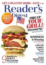 مجله ریدر دایجست Readers Digest Fire up your grill July/August 2020