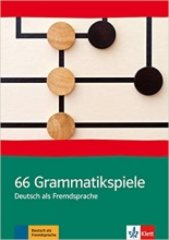 کتاب آلمانی 66 Grammatikspiele Deutsch als Fremdsprache