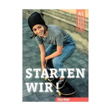 کتاب آلمانی اشتارتن ویر Starten wir! A1: kursbuch und Arbeitsbuch mit CD انتشارات جنگل