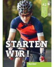 کتاب آلمانی اشتارتن ویر Starten wir! A2: kursbuch und Arbeitsbuch mit CD انتشارات زبانکده