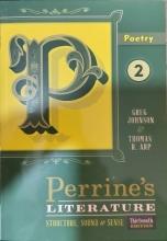 کتاب پرینز لیتریچر پواتری ویرایش سیزدهم Perrines Literature Structure, Sound & Sense Poetry 2 Thirteenth Edition