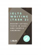 کتاب زبان آیلتس آکادمیک رایتینگ اکچوال تست ژانویه تا می ۲۰۲۰  IELTS Academic Writing Recent Actual Tests (Task 2) in Jan-May 202