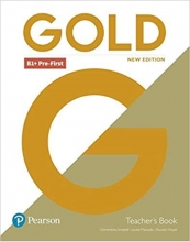 کتاب معلم Gold B1+ Pre-First New Edition