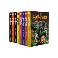 پکیج 8 جلدی سری رمان های هری پاتر زبان آلمانی Harry Potter German Edition Book Series