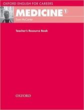 کتاب معلم مدیسین Oxford English for Careers: Medicine 1: Teacher's Resource Book