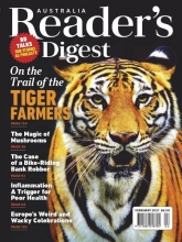مجله ریدر دایجست Readers Digest On the trail of the Tiger Farmers February 2021